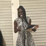 Reading at the launch of 'Filigree' at Kings University London