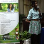 Presenting workshop at 'Every Woman Inspired', Jamaica